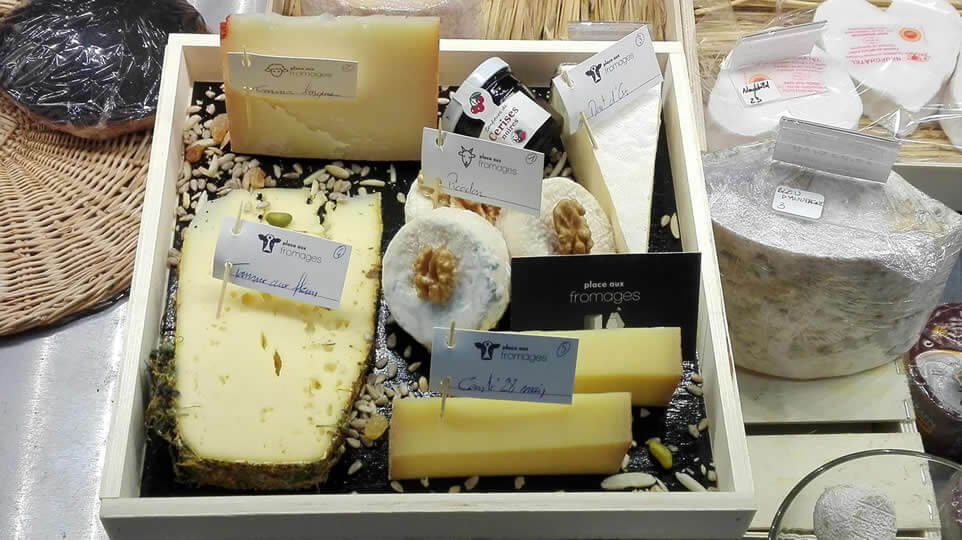 Plateau de fromage place aux fromages fromager langon gironde
