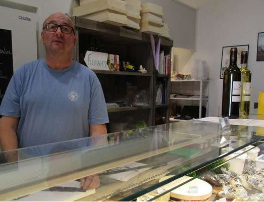 actualités sud ouest place aux fromages fromagerie Langon Gironde