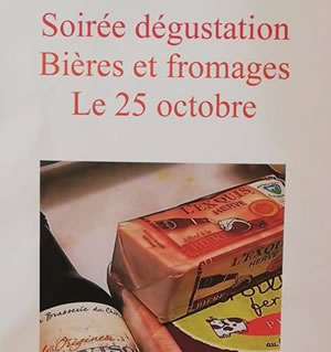 Soiree degustation fromage biere Place aux fromages Fromager Langon Gironde