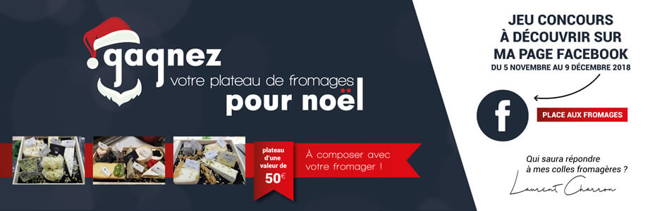 Jeu concours place aux fromages fromager Langon gironde